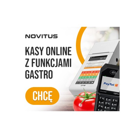 GASTRO na Kasy Novitus Next i One